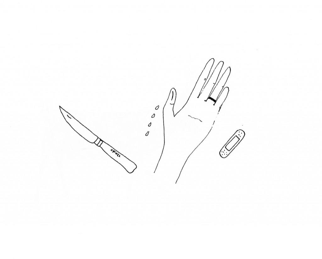 doigt coupé